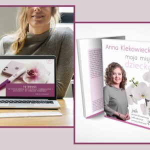 PAKIET: tutoriale + książka, dostawa gratis